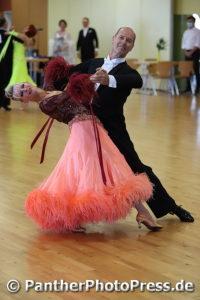 Rainer und Astrid Quenzel, Tanz Sport Club in Hannover